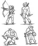 Fantasy Guys and Gals