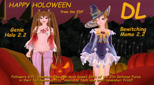 EDF Hallowen Special Followers Gift by griffen100