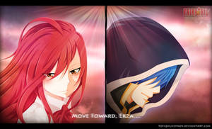 Move Foward, Erza! - Fairy Tail Manga 416