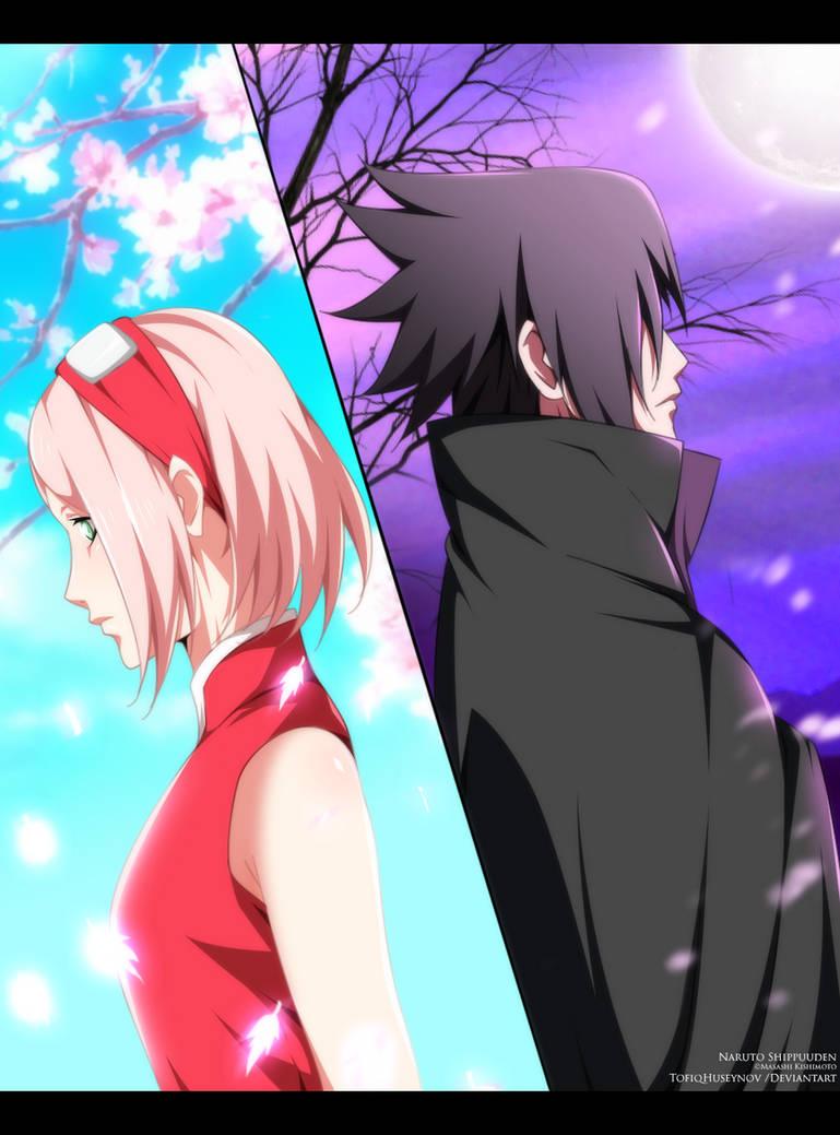 Sakura x Sasuke - Fanart by StayAlivePlz