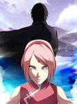 Sakura x Sasuke [Adult] - 2nd Fanart by StayAlivePlz