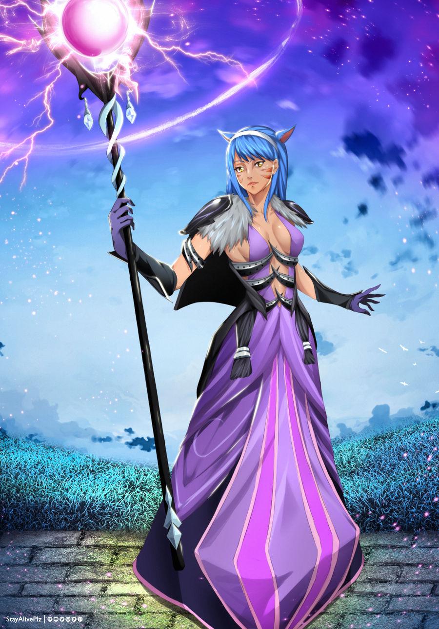 Eileenza /Miqo'te | Final Fantasy OC (commission)