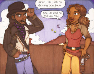 Commission:Zoe and Lord Bowler by elephantblue