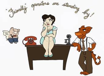 SCP: Call Us! by elephantblue