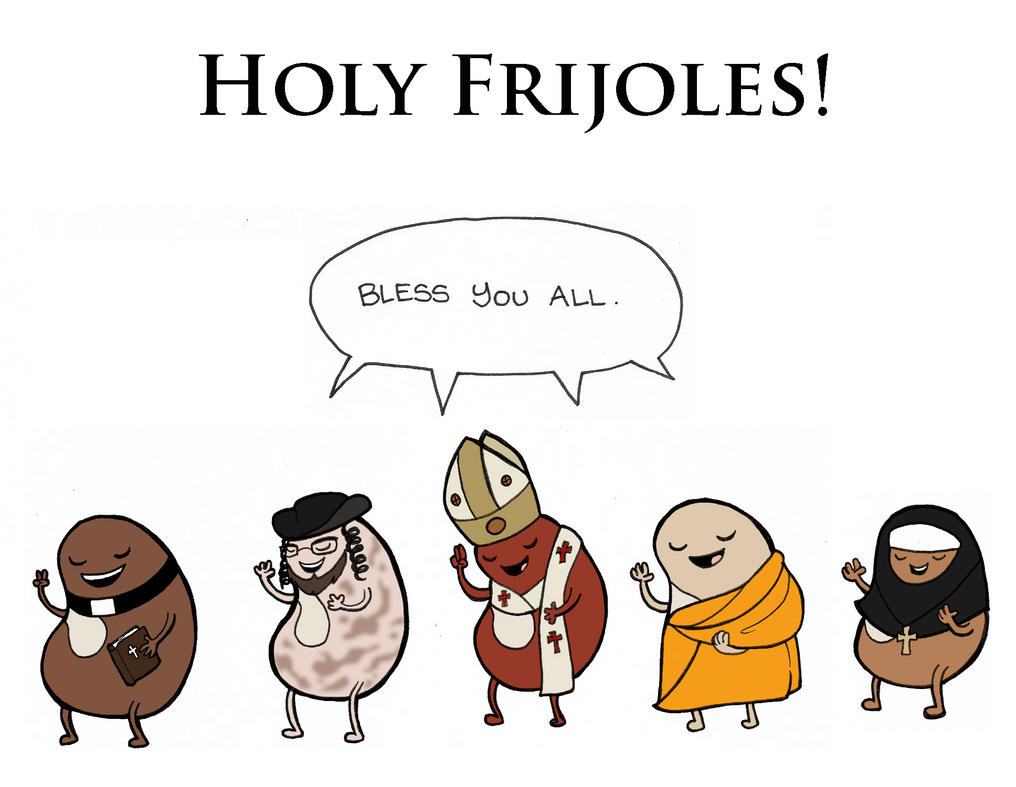 Redbubble: Holy Frijoles by elephantblue