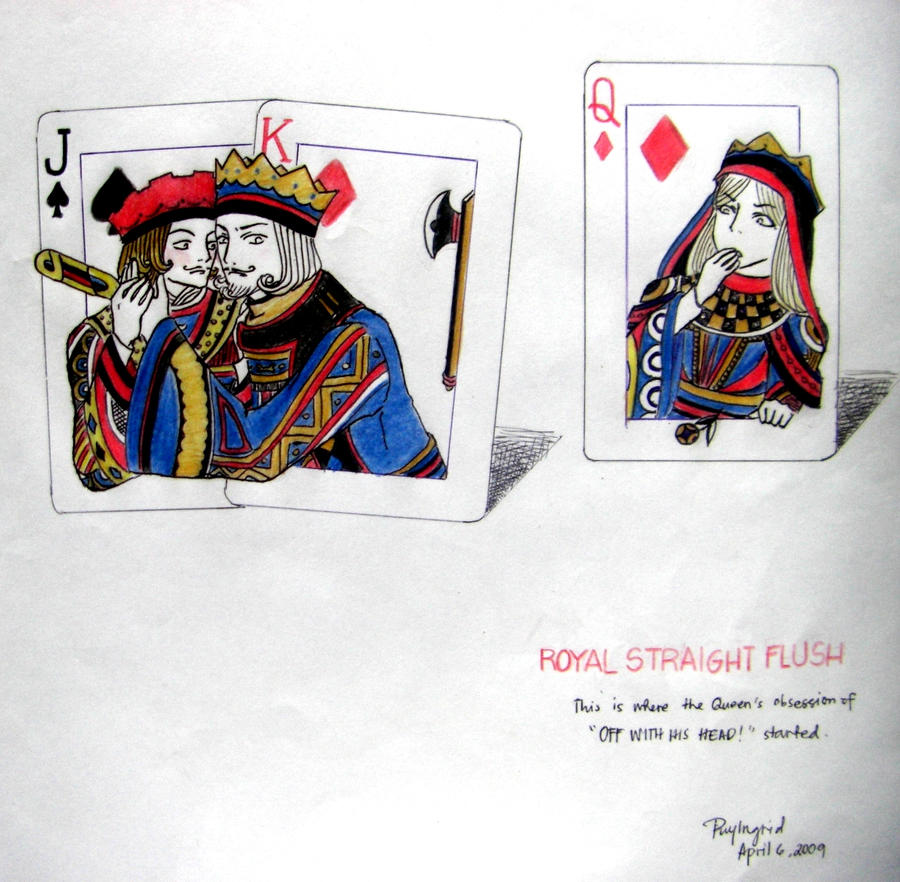 Straight royal flush