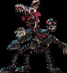 FNAF 4 Nightmare Mangle full body
