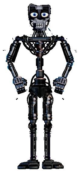 FNAF 1 Endo-01 full body ( Version 3 ) by Enderziom2004 on