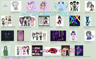 Neon Galaxies's 2013 Art Summary