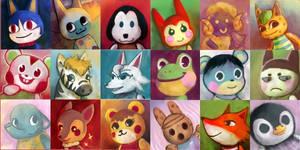 Animal Crossing: New Leaf Iconset