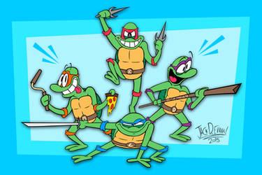 Teenage Mutant Ninja Turtles by Moon-manUnit-42