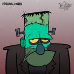 Drawlloween 13 - Frankenstein