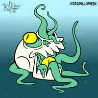 Drawlloween 20 - Skull by Moon-manUnit-42