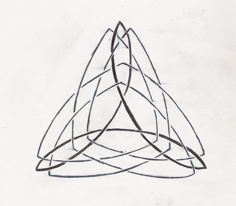 Celtic Triangle Tattoo Design By Qwonk On Deviantart