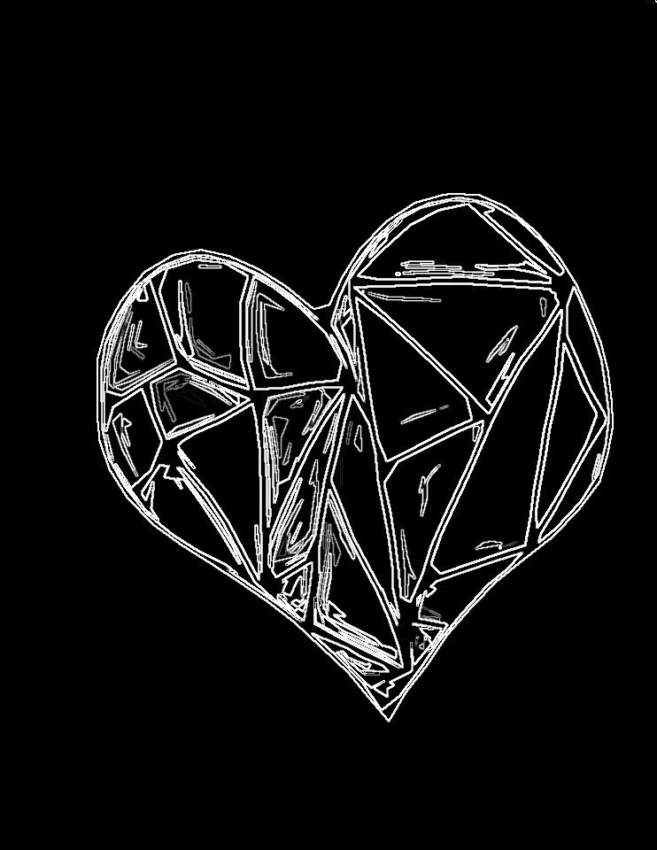 glass heart by clemmyninjastar32