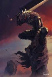 The Black Swordsman by Nefillim