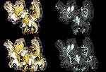 Ultra Necrozma/Noivern Sprite Fusion
