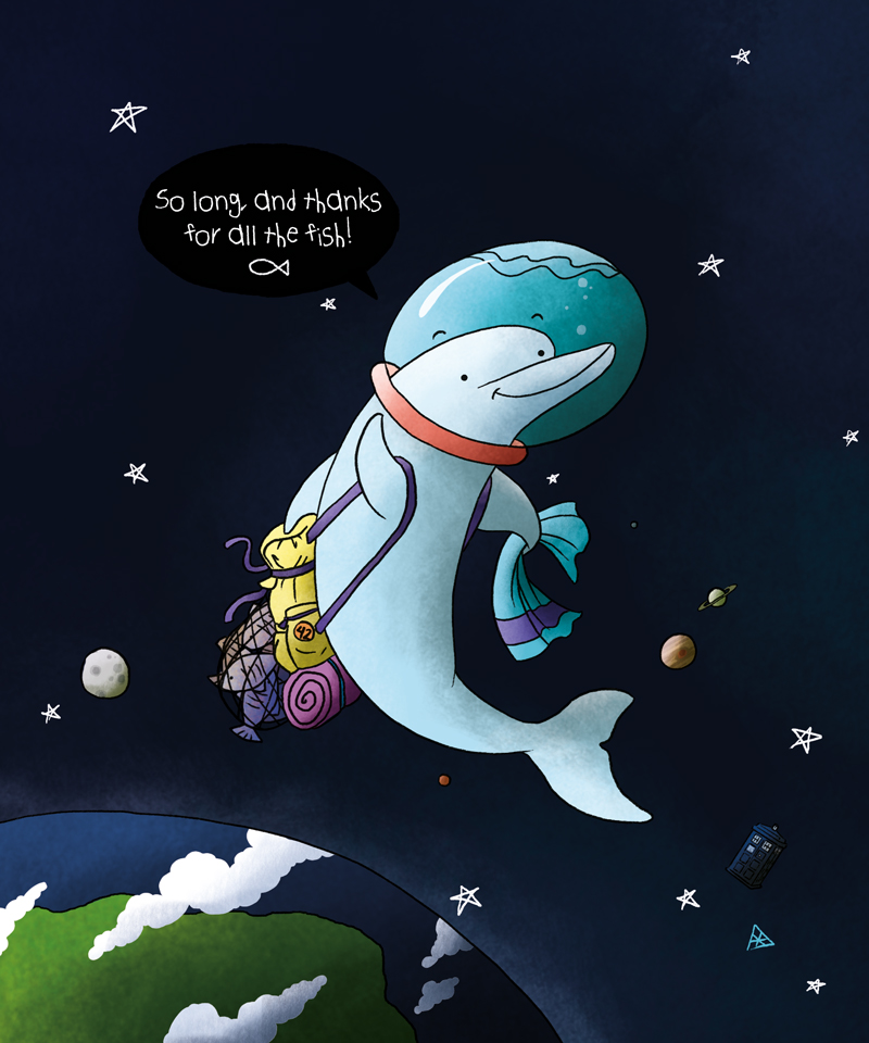 So long and thanks for all the fish by x ama on deviantart for Thanks for all the fish