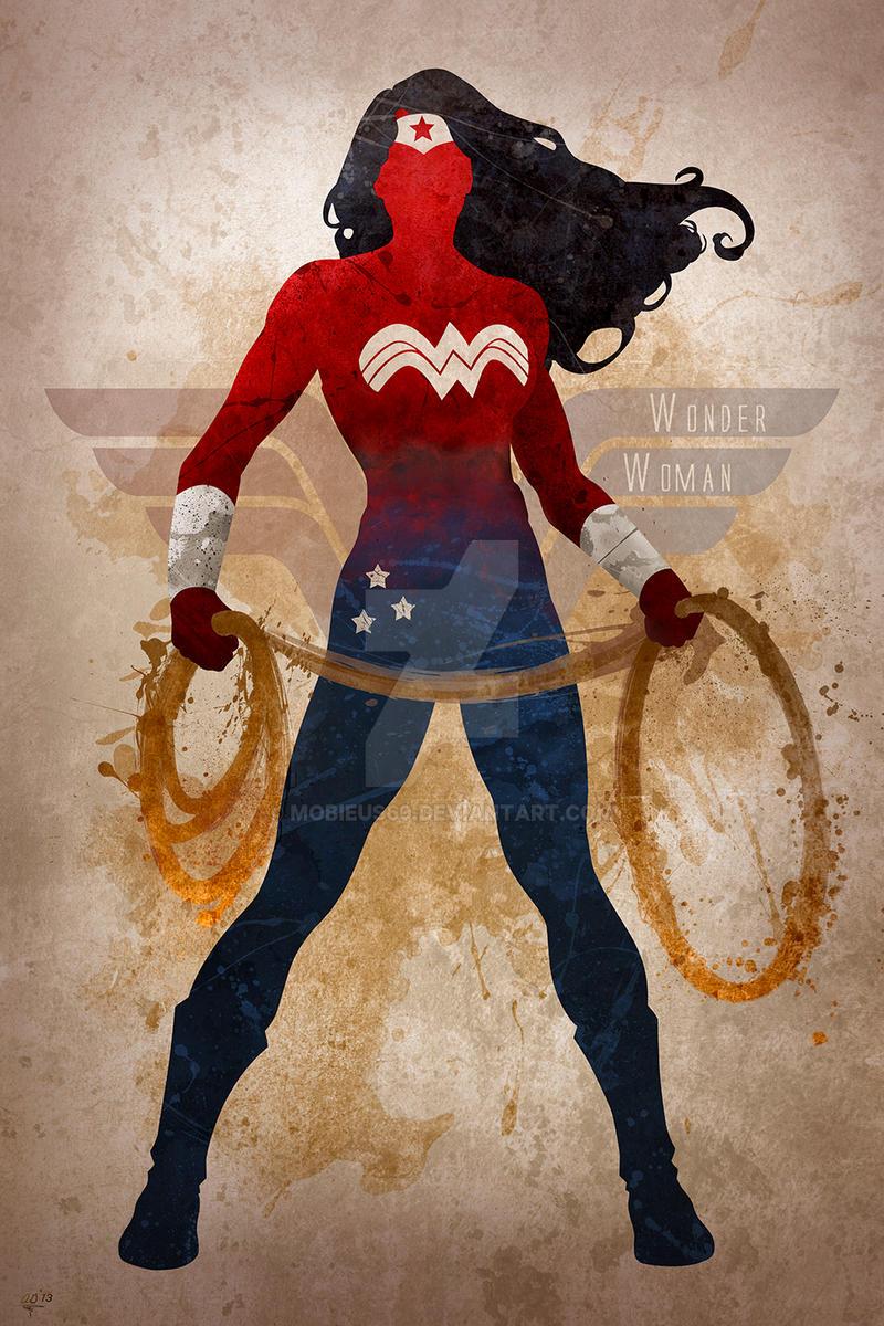 wonder woman by mobieus69 on deviantart