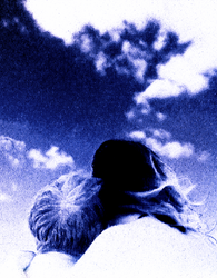 Looking at heaven