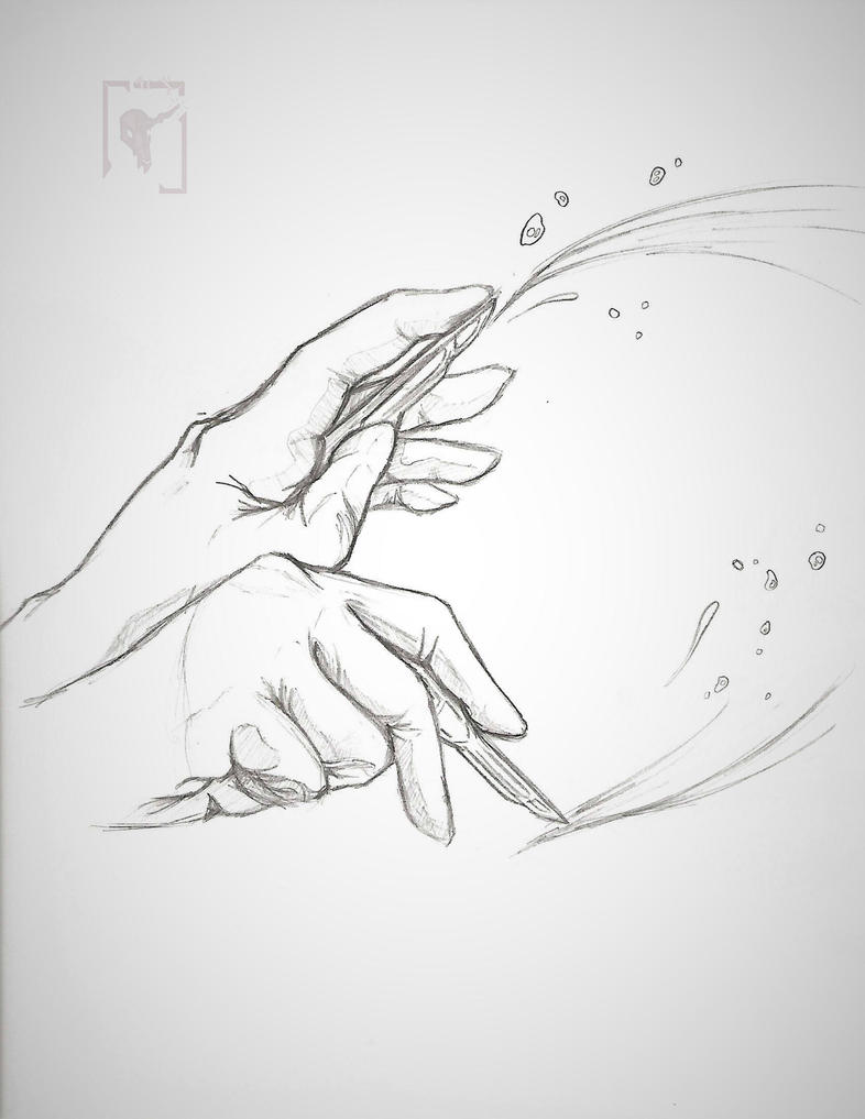 Goretober / Inktober #1: Medical | Fast by SaltedDriftwood