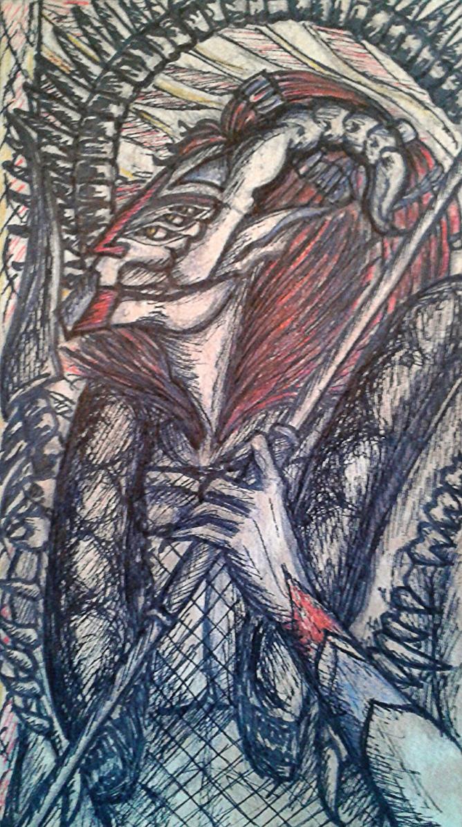 Eleventh Bookmark: Prometheus Glaru by Lexandrix