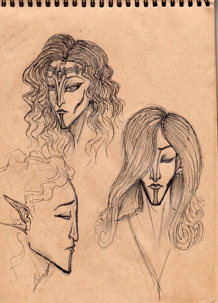 Dreiser sketch by Lexandrix