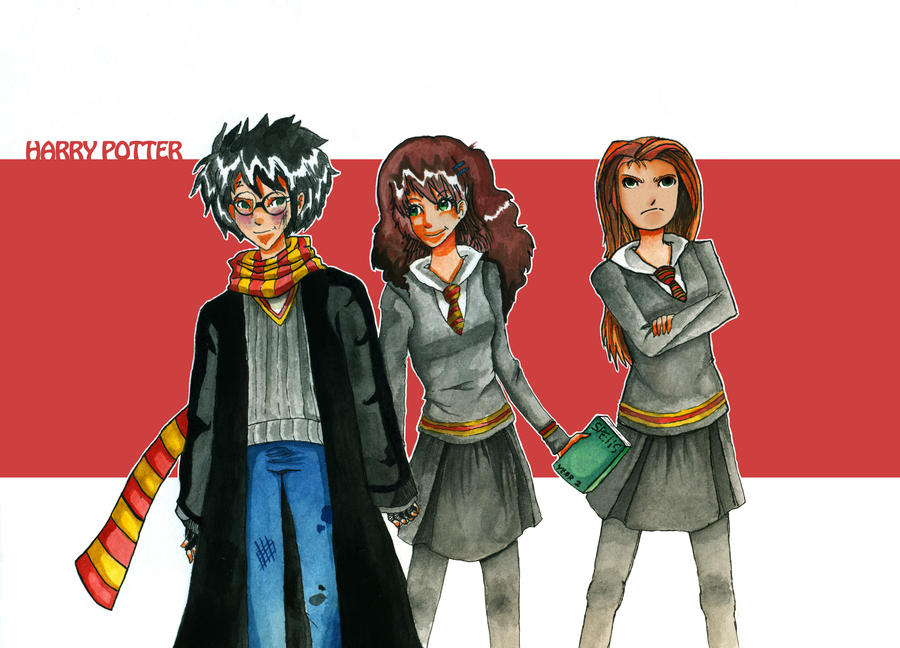 Harry Potter by ayeshoo123