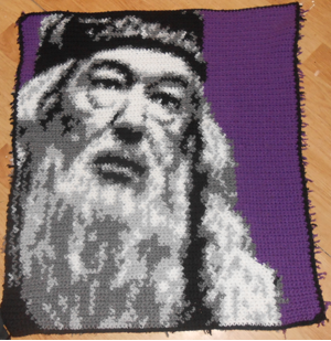 Dumbledore Blanket Square by Maintje