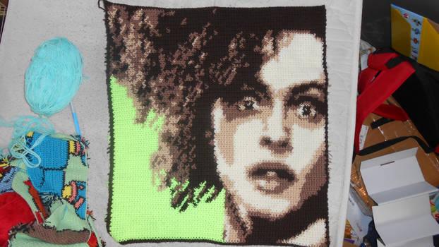 Bellatrix Lestrange Blanket Square