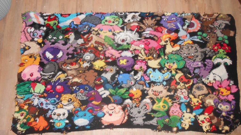 Pokemon WIP : 65 finished by Maintje