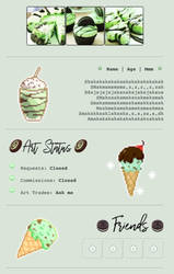 Green Mint Custombox by My-test-accountt