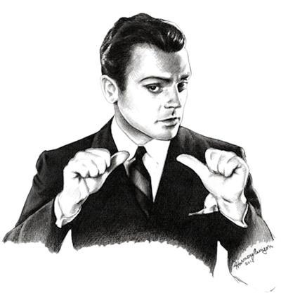 James Cagney by mydogatela