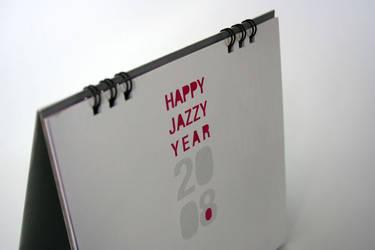 jazzaddict calendar 2 by ecodezign