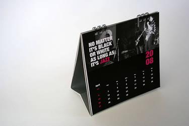 jazzaddict calendar 3 by ecodezign