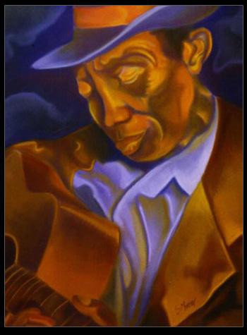 Blues man by dVusMind
