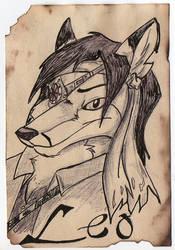 Leo Badge By Makki Wolf by Omasaki