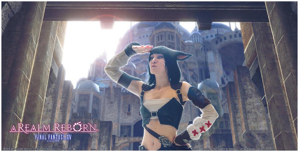 Final Fantasy Xiv A Realm Reborn Fantasy Art Wallpapers: Miqo'te [III] By PsCoTiK On DeviantArt