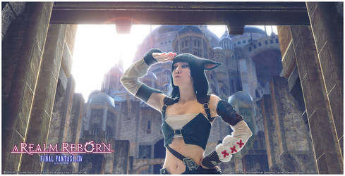 FFXIV A Realm Reborn - Miqo'te [III] by PsCoTiK