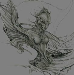 unfinished mermaid