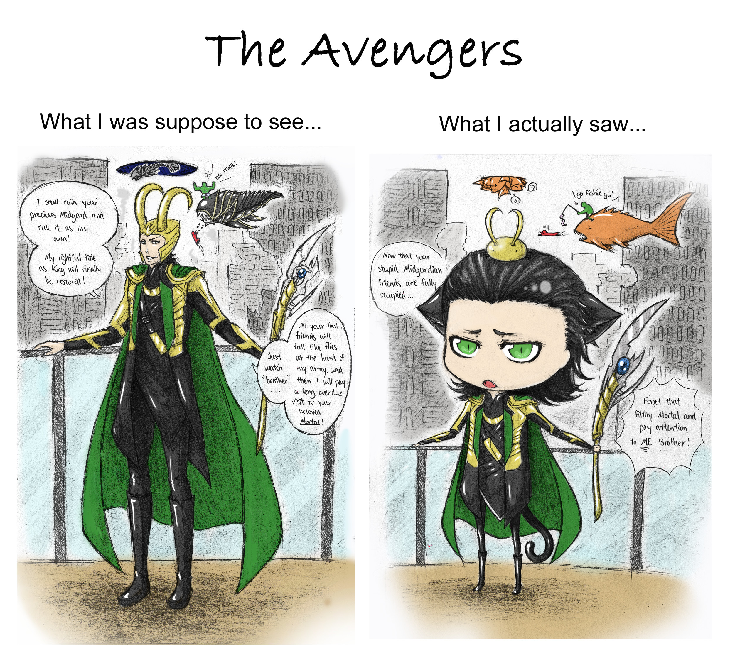 Loki favourites by RavenluvsSesshomaru on DeviantArt
