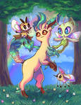 Leafeon and friends