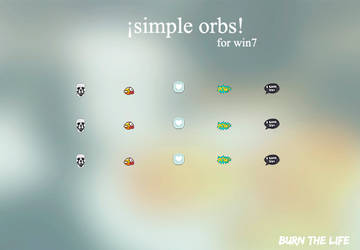 simple | orbs by Burn-the-life