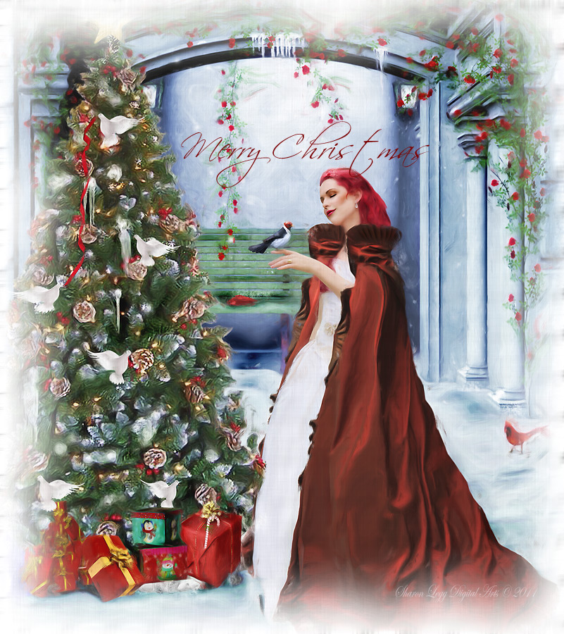 Merry Christmas by SharonLeggDigitalArt