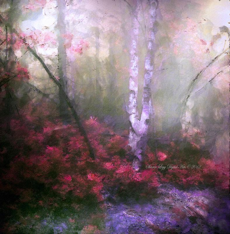 French Woods by SharonLeggDigitalArt