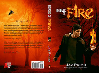 Bringer of Fire_Book Cover by SharonLeggDigitalArt
