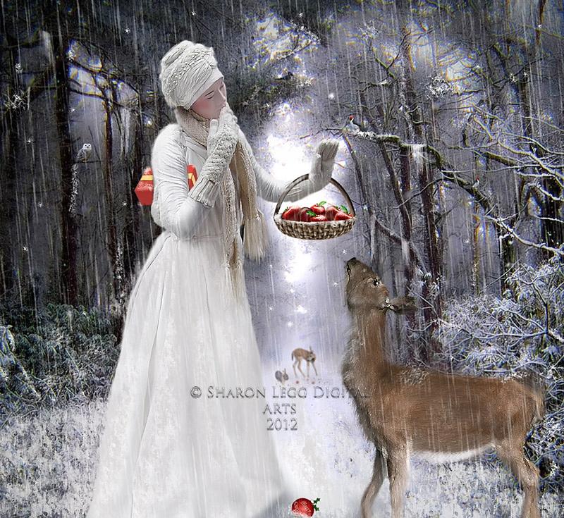 Christmas Delivery by SharonLeggDigitalArt