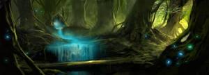 forest sketch