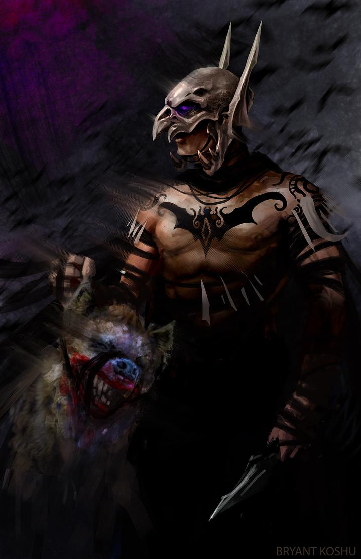 tribal(ish) batman by Peachlab