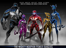 The Mighty morphine Power Rangers